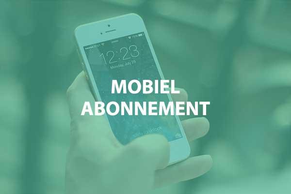 Goedkoopste mobiel abonnement vergelijken